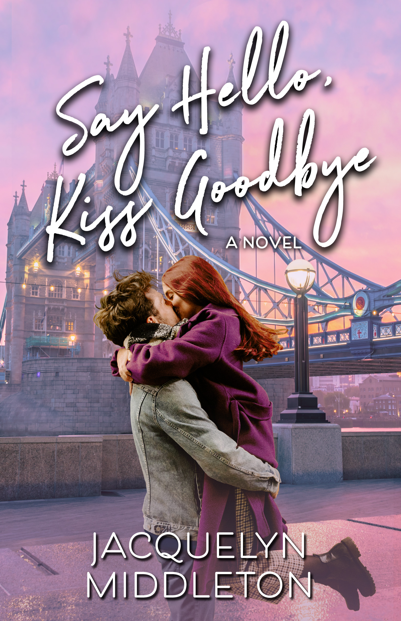 SAY HELLO, KISS GOODBYE is available in ebook and paperback on November 26, 2020.